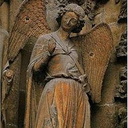 76 - Angel de la sonrisa de la Catedral de Reims