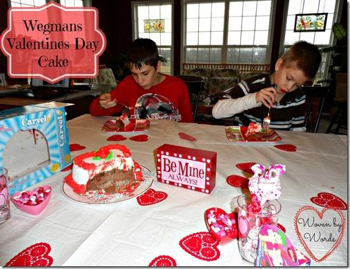 Wegmans Valentines Day Cake