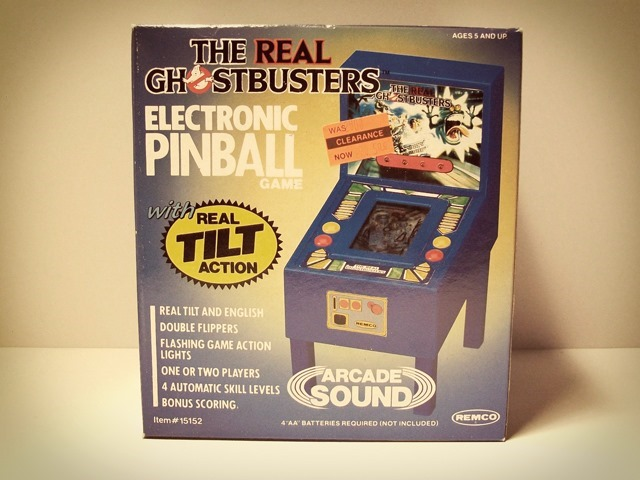 Ghostbusters Electronic Pinball Game