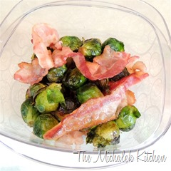 Hubbys Takeout Bacon Brussels