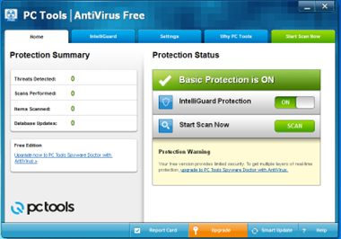 Free AntiVirus PC Tools