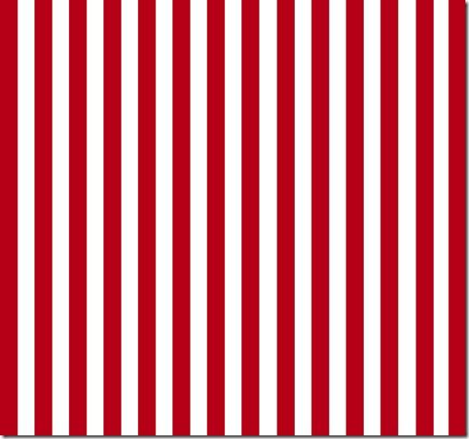 rød og hvitstripete mønsterark julemerkelapper