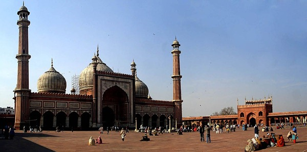 مسجد جاما في الهند
