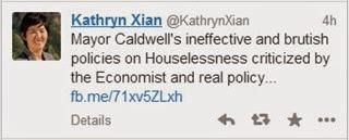 Economist tweet