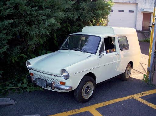 1972 DAF 33C Combi Van