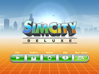 The familiar SimCity game is a must have on the iPad.