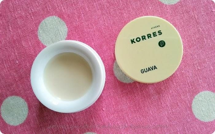 Korres lip butter guava