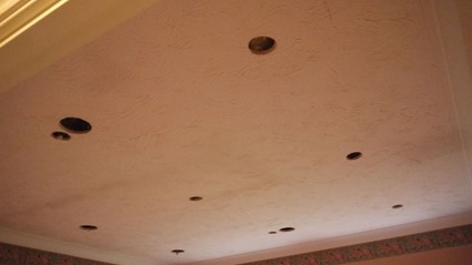 The Holey Ceiling
