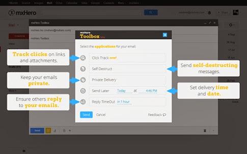 mxHero Toolbox para Chrome