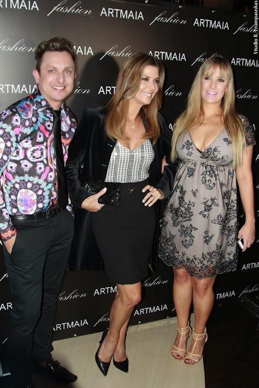 Marcos Maia, Fabiana Scaranzi e Priscila Maia