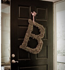 B wreath