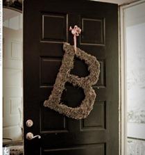 B wreath