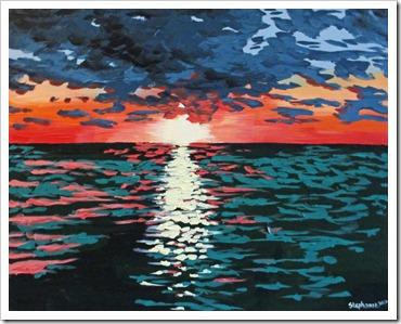 door county sunset stephanie holznecht