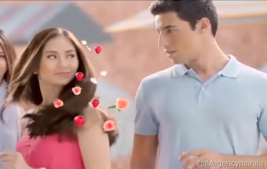William Nunes Sarah Geronimo sunsilk