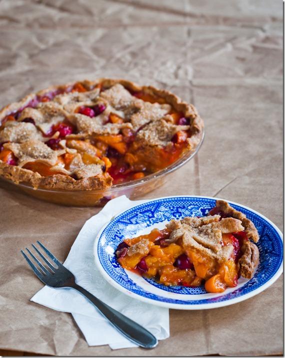 apricot cranberry pie-3620