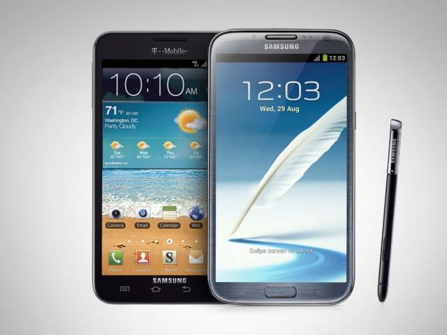 Galaxy Note 2 vs Galaxy Note Comparativa