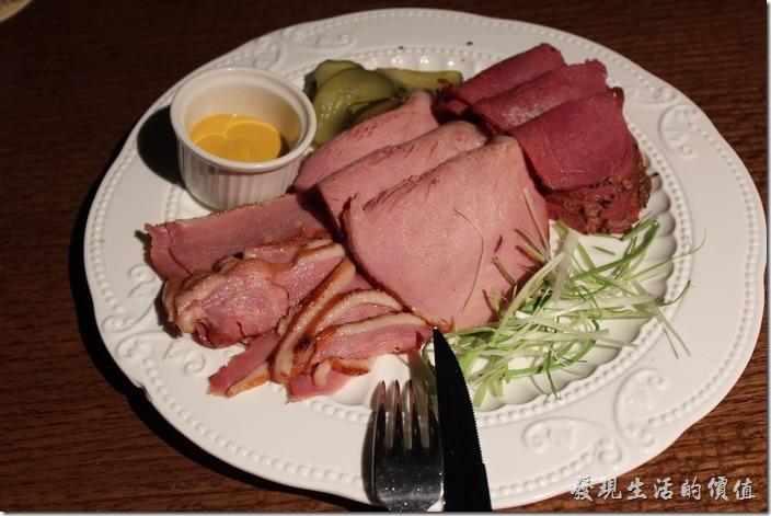 台北-美麗華金色三麥。生日套餐,德式煙燻三拼