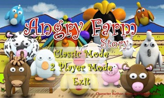 Screenshot of Angry Farm Animal Marbles