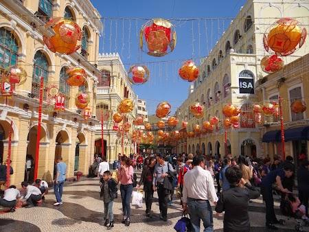 Anul Nou Chinezesc la Macao.