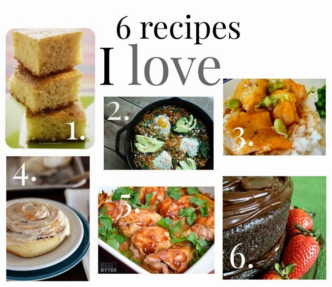 6 favorite recipes from www.maybematilda.com