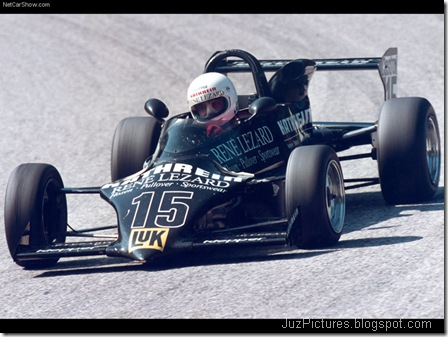 Alfa Romeo 2.0i TS Formula 3 2