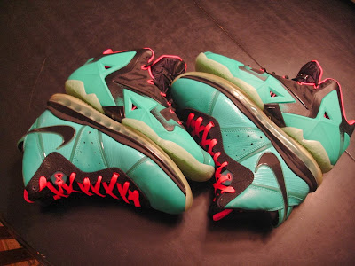 nike lebron 11 id production south beach 1 02 Nike LeBron XI iD South Beach Build by Awsome Blossom