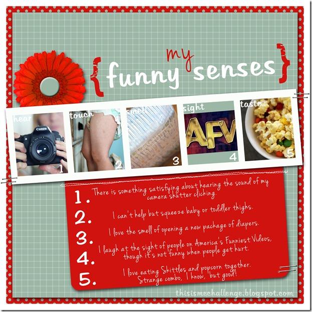 funny senses TIMC