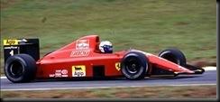 Alain Prost 90  Ferrari