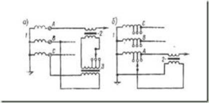 схема вольтодобавочного трансформатора