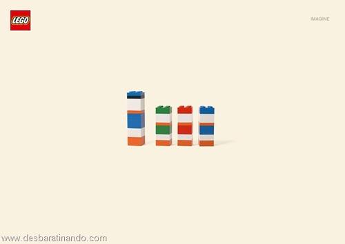 Pato Donald  lego minimalista