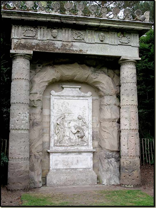 Shugborough - The Shepherd's Monument