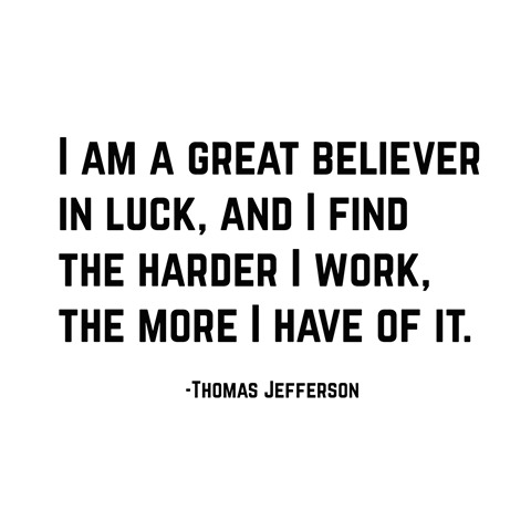 luck -- jefferson