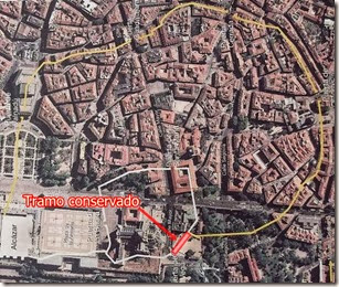 Recorrido del antiguo recinto fortificado musulman1