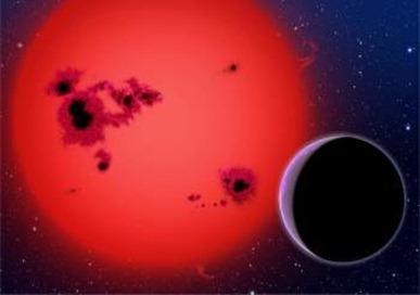 exoplaneta orbita sua estrela