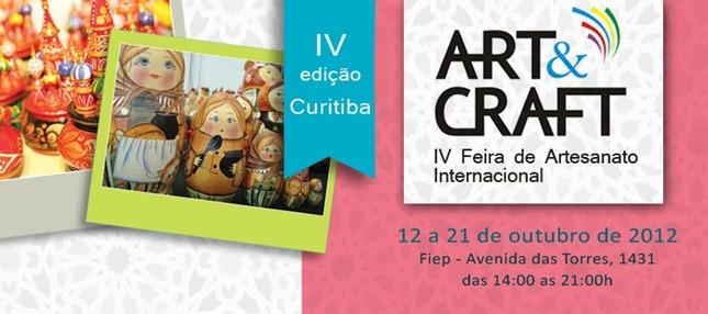 art craft curitiba feira artesanato fiep outubro 2