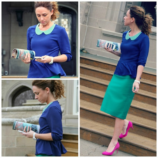 how to refashion a blouse