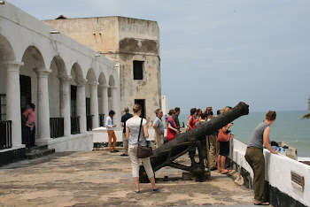 'Visiting historic Elmina Castle.' Photo by Sandra Vu