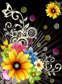 fantasy-flowers_poze telefon abstracte