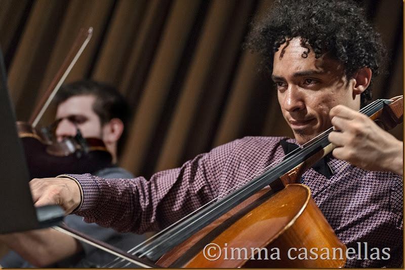 Martín Meléndez (cello) amb Felipe Escalada, Vilafranca del Penedès 2014