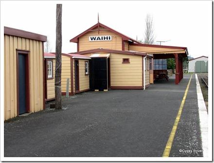Waihi station.