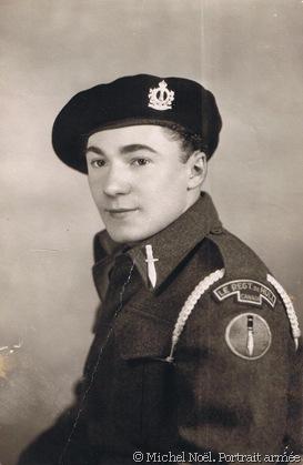 Michel Noël. Guerre portrait