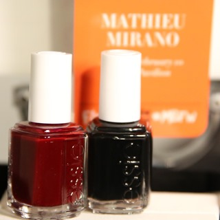 essie for Mathieu Mirano NYFW 2014 #essieNYFW
