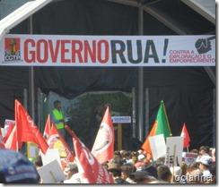 Foto manifestação Belém 25 Maio. Mai.2013
