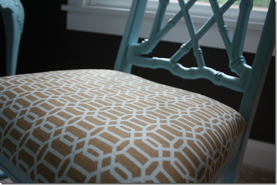 Faux bamboo chair for bedroom 006