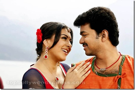 Vijay, Hansika Velayutham movie stills 5