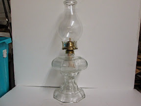 Octagonal Oil Lamp