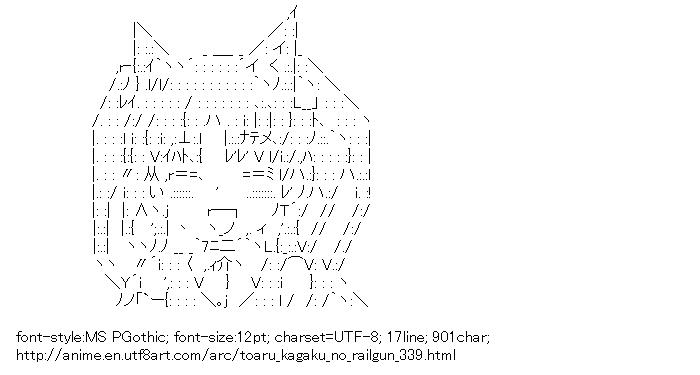 Toaru kagaku no railgun,Shirai Kuroko,Cat ears
