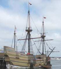Plymouth Mayflower 8.13 boat