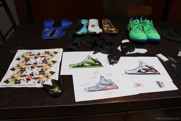 Leo Chang Talks Nike LeBron X PS Elite Unveils New Samples