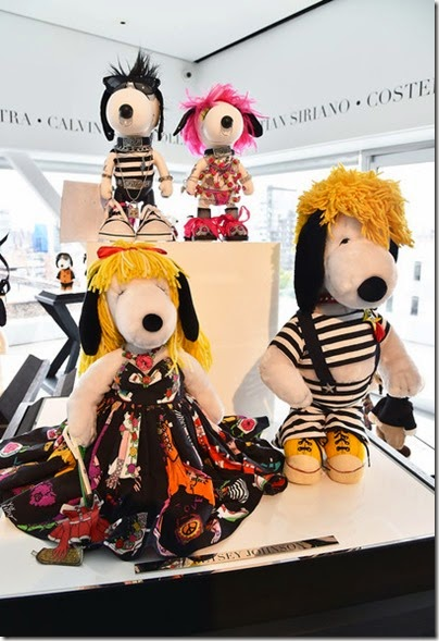 Peanuts X Metlife - Snoopy and Belle in Fashion Exhibition Presentation (Source - Slaven Vlasic - Getty Images North America) 04